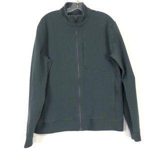 Lululemon Full ZIP Athletic Dark Grey Jacket